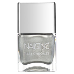 nails inc. Steely Stare Chrome Nail Varnish 14ml