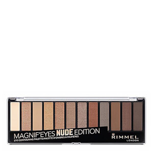 Палетка теней Rimmel 12 Pan Eyeshadow Palette — Nude Edition 14 г