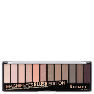 Rimmel 12 Pan Eyeshadow Palette - Blushed Edition 14g