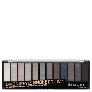 Rimmel 12 Pan Eyeshadow Palette - Smokey Edition 14g