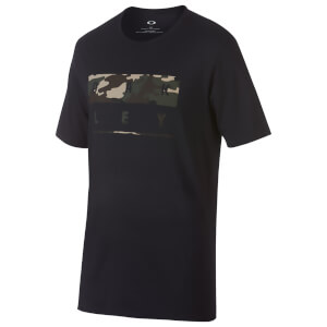 Oakley Men's 50 Stack Camo T-Shirt - Black