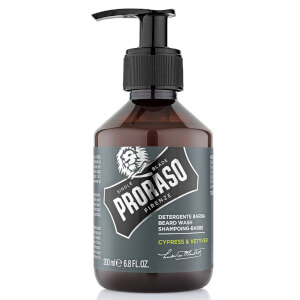 Proraso Cypress and Vetyver Beard Wash 200ml