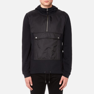 Pretty Green Men's Kerfield Overhead Hoody - Black