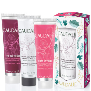 Caudalie Hand and Nail Cream Trio (Worth $30)