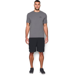 Under Armour Men's Qualifier 9 Inch Woven Shorts - Black