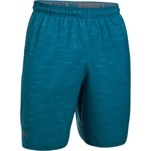 Under Armour Men's Qualifier Printed Shorts - Blue