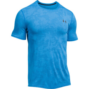Under Armour Men's Elite Fitted T-Shirt - Blue