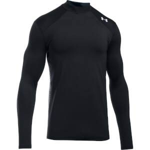 Under Armour Men's ColdGear Reactor Fitted Long Sleeve Top - Black