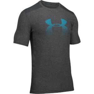 Under Armour Men's Raid Graphic T-Shirt - Grey/Blue
