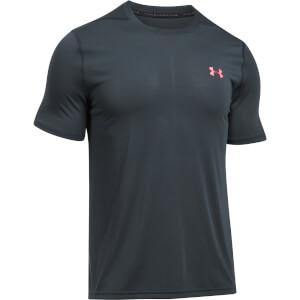 Under Armour Men's Threadborne Fitted T-Shirt - Black/Red