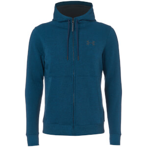 Under Armour Men's Threadborne FZ Hoody - Blue