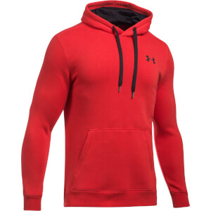 Under Armour Men's Rival Fitted Hoody - Red
