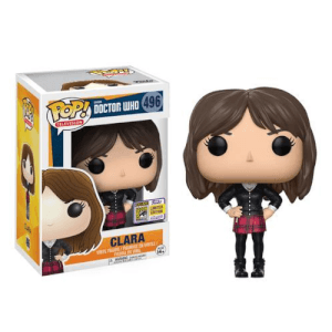 SDCC 17 Doctor Who Clara Pop! Vinyl Figure