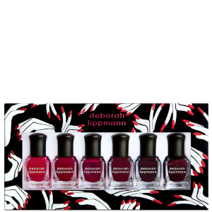 Deborah Lippmann Gel Lab Pro Nail Varnish Set - Lady in Red 6 x 8ml (Worth £55.70)