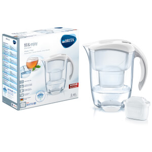 BRITA Maxtra+ Elemaris Cool Meter Water Filter Jug - White