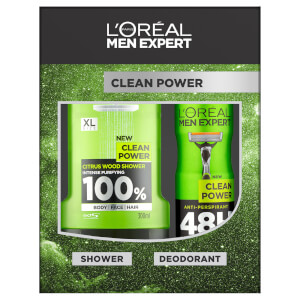 L'Oreal Men Expert Clean Power Gift Set