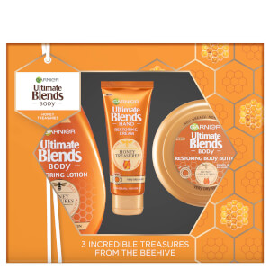 Garnier Ultimate Blends Honey Treasures Christmas Gift Set