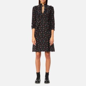 Coach Women's Western Shirt Dress - Black/Multi