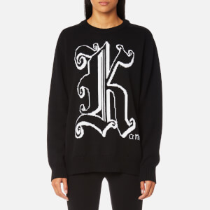 Christopher Kane Women's Kane Crew Neck Jumper - Black