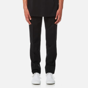 Matthew Miller Men's Leto Slim Leg Trousers - Black Wool