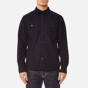 Edwin Men's Labour 4 Pockets Shirt - Navy