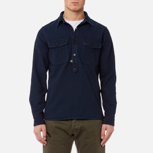 Edwin Men's Loggerhead Popover Shirt - Rinsed