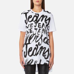 Versace Jeans Women's Logo T-Shirt - White