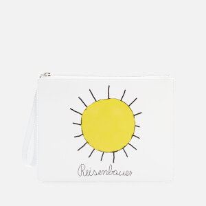 Christopher Kane Women's Gugging Art Clutch Bag - Gugging Sun Yellow