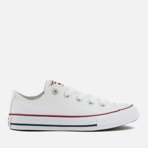 Converse Kids' Chuck Taylor All Star Ox Trainers - Optical White