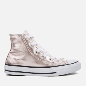 Converse Kids Chuck Taylor All Star Hi-Top Trainers - Rose Quartz/White/Black