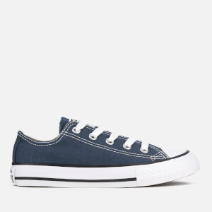 Converse Kids Chuck Taylor All Star Ox Trainers - Navy