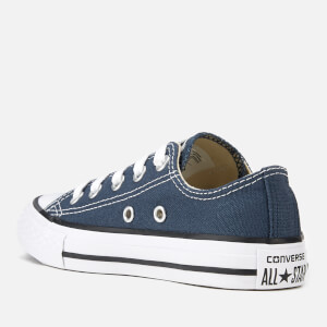 Converse Kids Chuck Taylor All Star Ox Trainers - Navy: Image 4