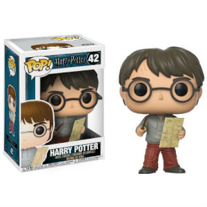 Harry Potter Harry with Marauders Map Funko Pop! Figuur