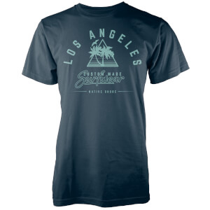 Native Shore Men's Los Angeles Surfwear T-Shirt - Navy