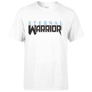 T-Shirt Homme Logo Valiant Comics Classic Eternal Warrior - Blanc
