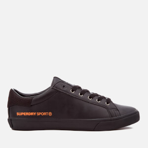 Superdry Men's Mono Tennis Trainers - Black/Black