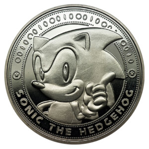 Sonic the Hedgehog Collectors Limited Edition Coin: Silver variant - Zavvi Exclusive