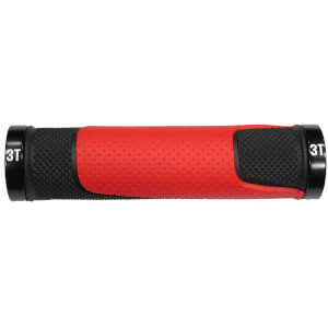 3T Team MTB Grip - Black/Red - 2015