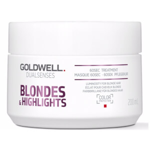 Goldwell Dualsenses Blonde and Highlights Anti-Yellow 60Sec Treatment 200ml