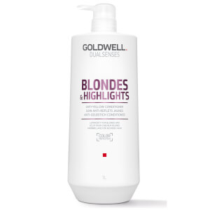 Après-shampooing anti-reflets jaunes Blondes & Highlights Goldwell Dualsenses 1000 ml