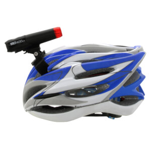 Cateye Volt 400 Duplex Front and Rear Helmet USB Light Set