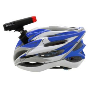 Cateye Volt 400 Duplex Front and Rear Helmet USB Light Set
