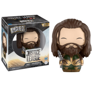 Justice League Aquaman Armored Dorbz Vinyl Figur