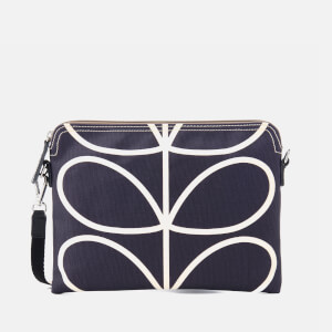 Orla Kiely Women's Travel Pouch - Orchid