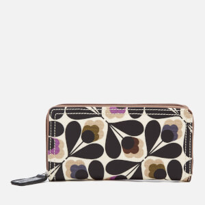 Orla Kiely Women's Big Zip Wallet - Multi