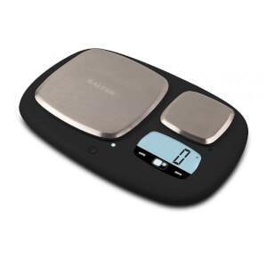 Salter Arc Pro Electronic Kitchen Scale - Black - 5kg