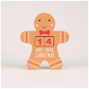 Sass & Belle Gingerbread Man Advent Calendar Block