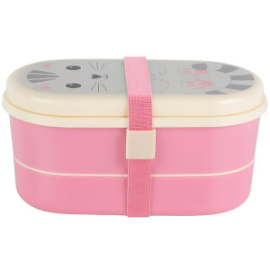 Sass & Belle Kawaii Friend Bento Box - Nori Cat
