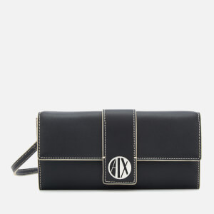 Armani Exchange Women's On Strap Wallet - Black