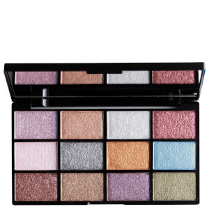 NYX Professional Makeup In Your Element Shadow Palette – Metals